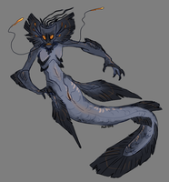Siren man DESIGN TRADE by VCR-WOLFE