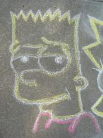 Chalk Bart by Hippsj93