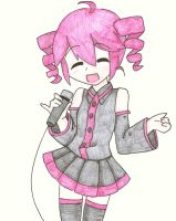 Kasane Teto: 'Im An Idol-' by xNeonPistolx