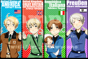 APH- Bookmark set by YubiwaDono