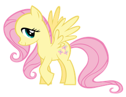Fluttershy base concept vexel by Durpy