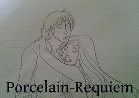 Edolie and Darryn Sketch by Porcelain-Requiem