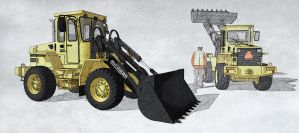 Michigan Wheel Loader NPR by unigami