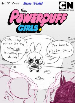 PPG16 Mock Comic Cover ~ Mind Gel by Son-Void