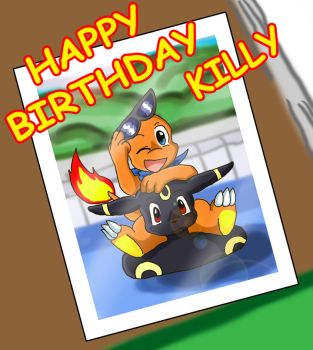 Happy Birthday Killy by Coshi-Dragonite