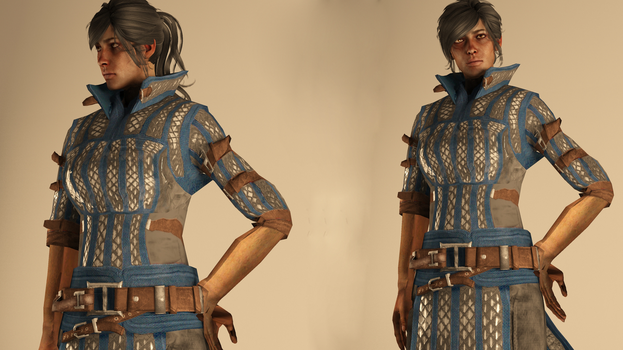 Warden-Commander Cousland - Casual Outfit by raubkruemel