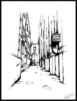Location_Drawing-__-Alleyway by Wardyworks