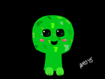 Kawaii Creeper by linkismyhero15