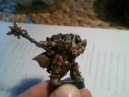 Chaos deathguard nurgle lord 4 almost done by skincoffin