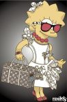 the Simpsons Fashion Lisa by hosmane