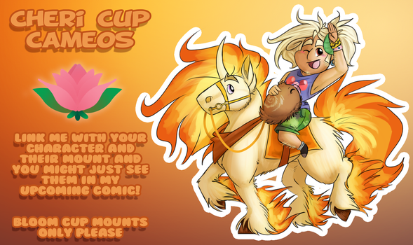 HL :: Cheri Cup - Bloom Cup CAMEOS by FabulousKas