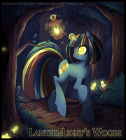 MLP - LanternLight's Woods by Ai-Bee