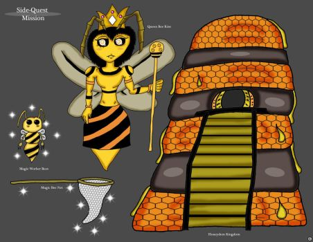 Queen Bee Kim - Mission Info by ThaMaJesticArtist