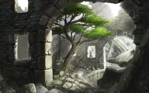 Resident of the ruins by IIDanmrak