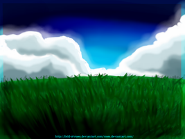 Field Background by Field-Of-Roses