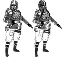 Imperial Field Officer Design by ManBean