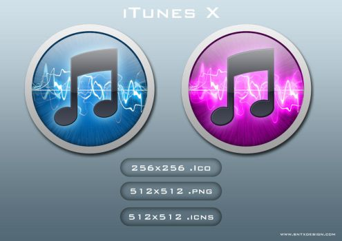 iTunes X by sntxdesign