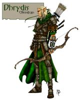 Elven Archer by grandanvil