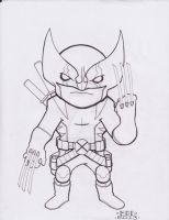 Lil Dude Wolverine by MARR-PHEOS