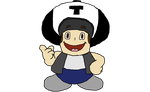 Ted (ExandShadow) as Toad Super Show Style by Mario9919