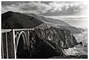 Road to Big Sur by AfterDeath