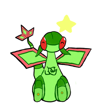 Flygon Used Sit! by Piksel-Art