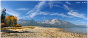 Lake Tahoe Panorama III by ynissim