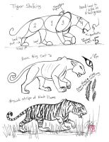 Draw a Tiger by Diana-Huang