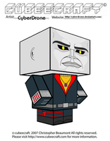 Cubeecraft - Destro 'G.I. Joe' by CyberDrone