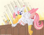 Lounging Foxxy by TwilightFlopple