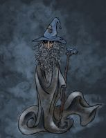 Grey Gandalf by SmudgeThistle