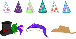 My little hat collection by Quasdar