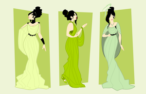 Shades of Green - Story Concept by LaggyCreations