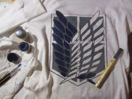 My Shingeki No Kyojin sweater by BeyonDream-98