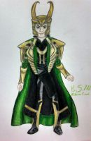Loki- Costume Redesign by Victoria-Creed