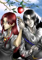 HP Severus and Lily by Honeyeater
