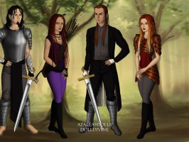 Thrax And Scarlettes Family by briannamason7