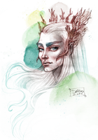 Thranduil by darkodordevic
