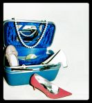 traveling women's suitcase by ivory