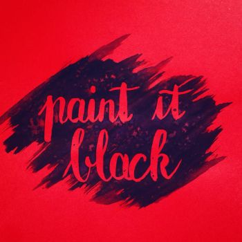 Paint it black by pica-ae