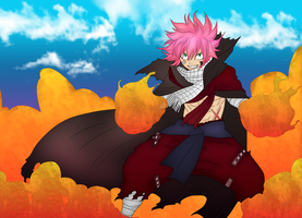 Fairy Tail 418 - Natsu The Challenger by ng9