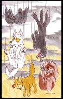 -It'sRainingWolves- by silversister