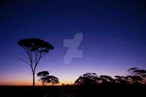 Australian Sunset by ahbu