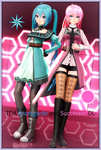 -TDA Miku Avantgarde and Luka Successor DL- by ChocoFudge98