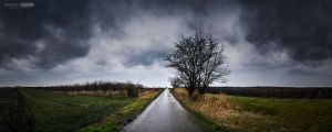 Raining before snowing by NorbertKocsis