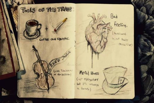 Tools of the trade by loomiecreate