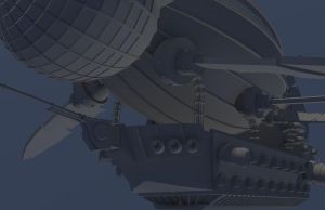 Airship Render 6 by Graphite-Dream