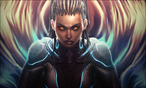 StarCraft- Heart of the swarm by GiladAvny