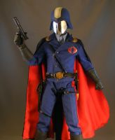 Sideshow Cobra Commander again by maulsballs