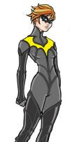 Spacesuit Batgirl by JoelRCarroll